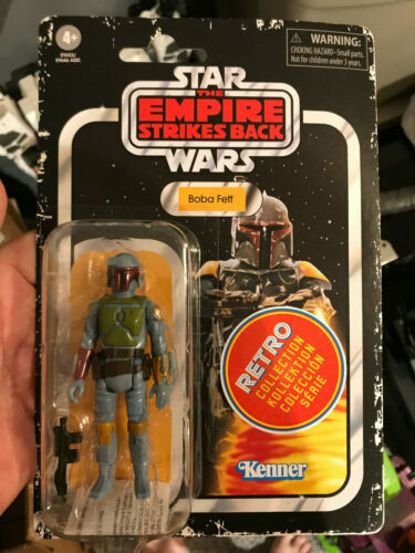 2020 Star Wars Rétro Collection WAVE 2 BOBA FETT Kenner The Empire Strikes Back