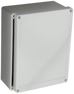BUD Industries NBF-32016 Plastic ABS NEMA INDOOR USE Box with Solid Door