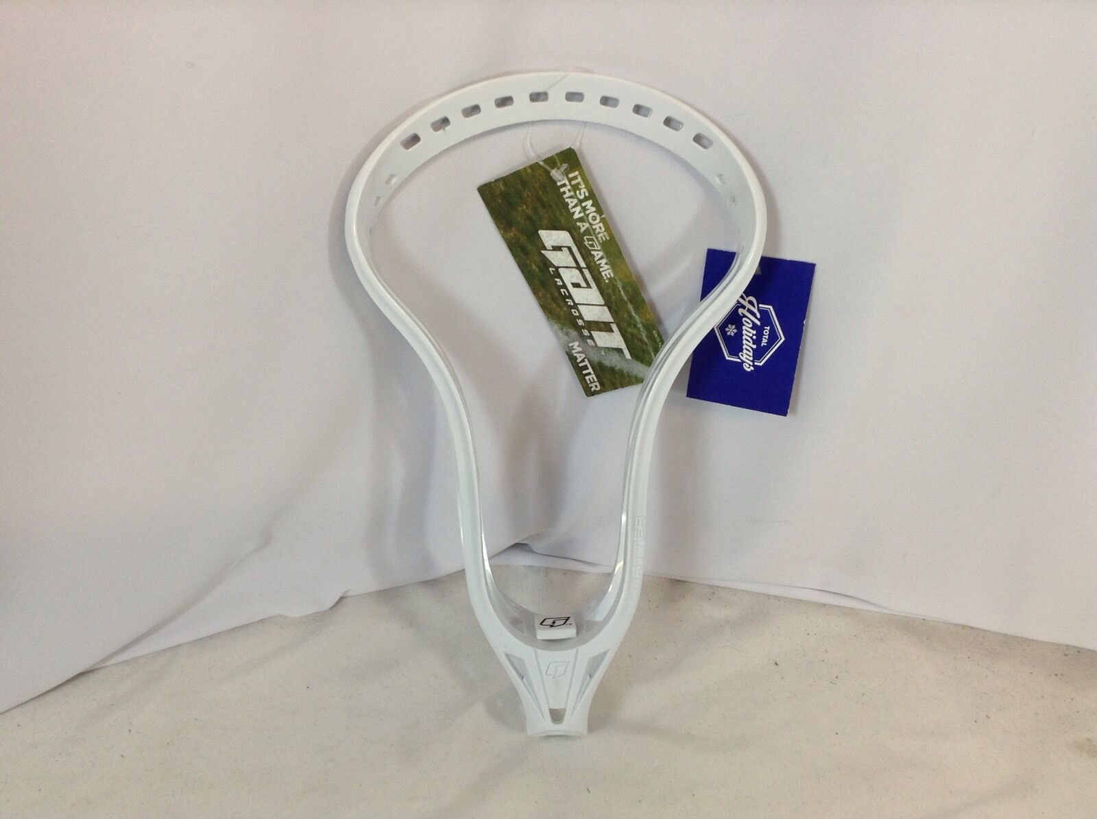 Gait Matter Unstrung Lacrosse Head White New (LAX139) IHH