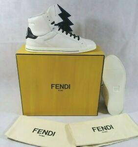 Fendi Lightning Bolt Stud HT White