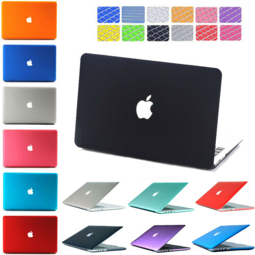 Hard Case Shell For Macbook Air 13 / 11 Pro 13 / 15 Retina 12 + Keyboard Cover by Ruban