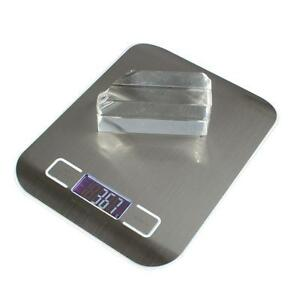 H318 5KG/1G Stainless Steel Electronic Kitchen Scale Daily Diet Food