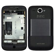 Cubierta posterior de repuesto original para HTC Wildfire (Negro)