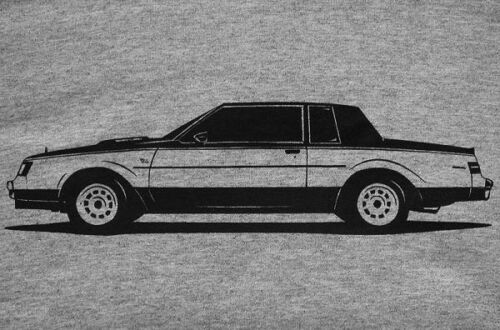 Regal Grand National GNX T-Type Buick WH1 T-Shirt