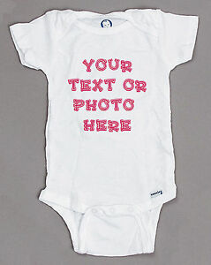 ac95e2fb0 Image is loading CUSTOM-PERSONALIZED-Baby-Onesie-newborn-infant-toddler