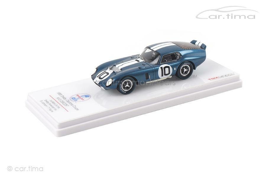 Shelby Daytona Coupé csx2287 - 24 H LE MANS 1965-Johnson PAYNE-TSM MODEL -