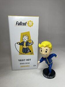 """Fallout 76 Vault Boy Bobblehead Endurance Collectable Vinyl 5"""" Figure BNIB"""
