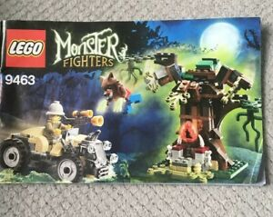 Lego-Monster-Fighters-9463-The-Werewolf-Instructions-Only