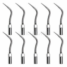 10pcs Dental Perio Tips PD4 Inserts fit DTE Satelec Ultrasonic Scaler Handpieces