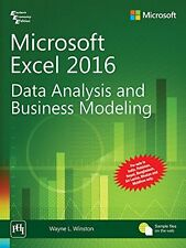 Microsoft Excel Data Analysis and Business Modeling by Wayne Winston (2016, Paperback)