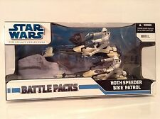 Star Wars Hoth Speeder Bike Patrol Figure Battle Pack Legacy Collection ESB Rare