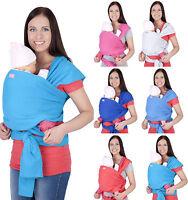 Mija - Elastisches Tragetuch Babytragetuch / Baby Bauchtrage Baby Carrier 4011