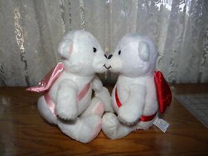 Hallmark-Kiss-Kiss-Cupid-Bears-NWT