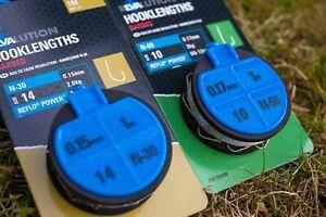Preston Innovations Revalution 1M N-30 /& N-50 Barbed Pre-Tied Feeder Hooklengths