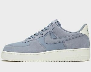 Details about Nike Air Force 1 07 Suede Leather ® ( Men UK10.5 EUR 45.5)Ashen Slate Sail BN
