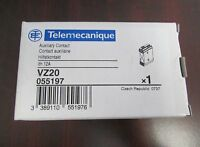 NEW TELEMECANIQUE VZ20 CONTACTOR AUXILIARY CONTACT 12 A 600V-AC D210337 Building Supplies