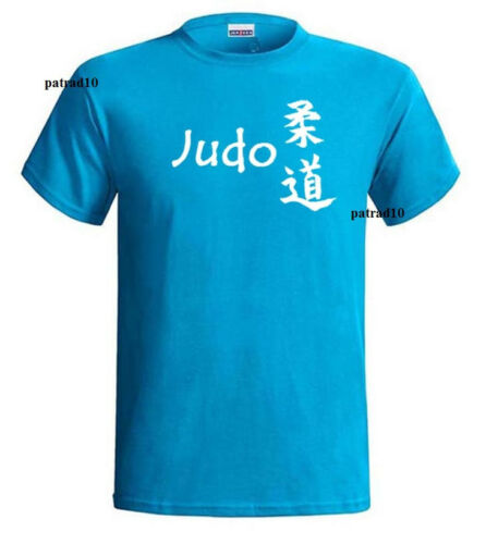 Judo T-shirt Japanese Martial Art Combat Fighting Shirt SIZES S-5XL