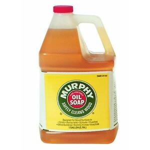 1 gallon murphy s oil soap liquid wood floor cabinet cleaner 01103 ebay. Black Bedroom Furniture Sets. Home Design Ideas