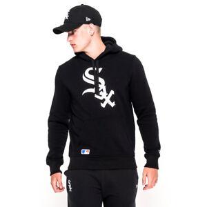 half off 261c9 ca98b Details about New Era Chicago White Sox Hoodie - Black