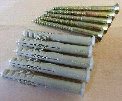 25 Stück Nylon Rahmendübel R8-60 SP MEA Senkkopf Kreuz Sonderposten