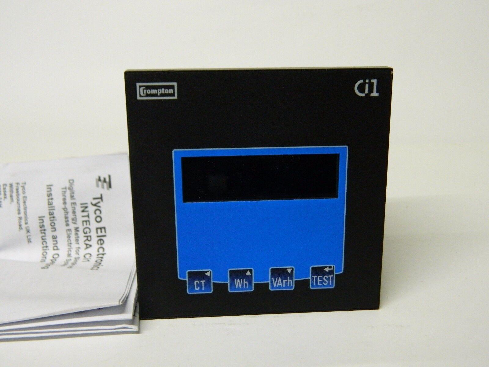Crompton instrument CI1-01 R5 triphasé Digital Digital Digital power meter 230-400vac be1f1a