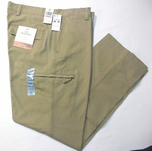 Crossover De Hombre Dockers D3 Classic Fit Plano Frente Pantalones Cargo British Khaki 58 Ebay