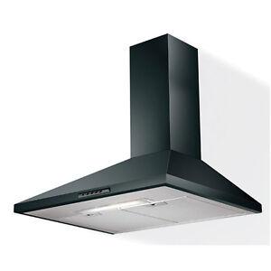 Faber cappa cucina Value 60 nero black da parete cod. 110.0085.017 ...