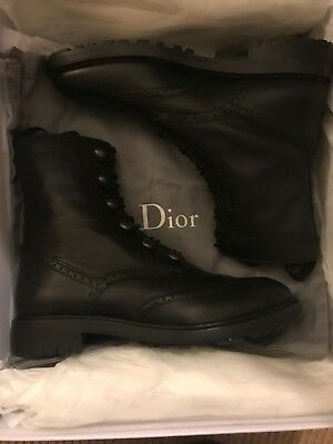 21987bff37f DIOR DIORUNIT Ankle Boot In Calfskin Leather, UK 6 Brand New In Box RRP  £1100 | eBay