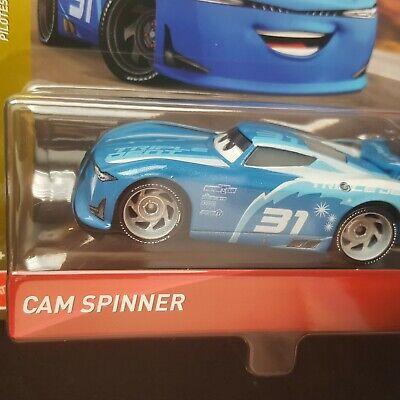 2019 Disney Pixar Cars CAM SPINNER Triple Dent Next-Gen Racers IN HAND