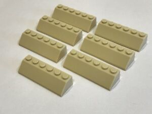 Lego 7x Tan Slope 45  2x6 C02 NEW!!! 23949