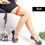 thumbnail 6 - Womens Fishnet Stockings Fencenet Tights Lace Top Thigh High Pantyhose Hold ups
