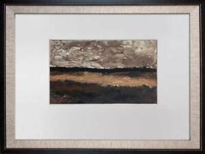 Georges-BRAQUE-Lithograph-LIMITED-Edition-034-Les-Champs-034-w-Frame
