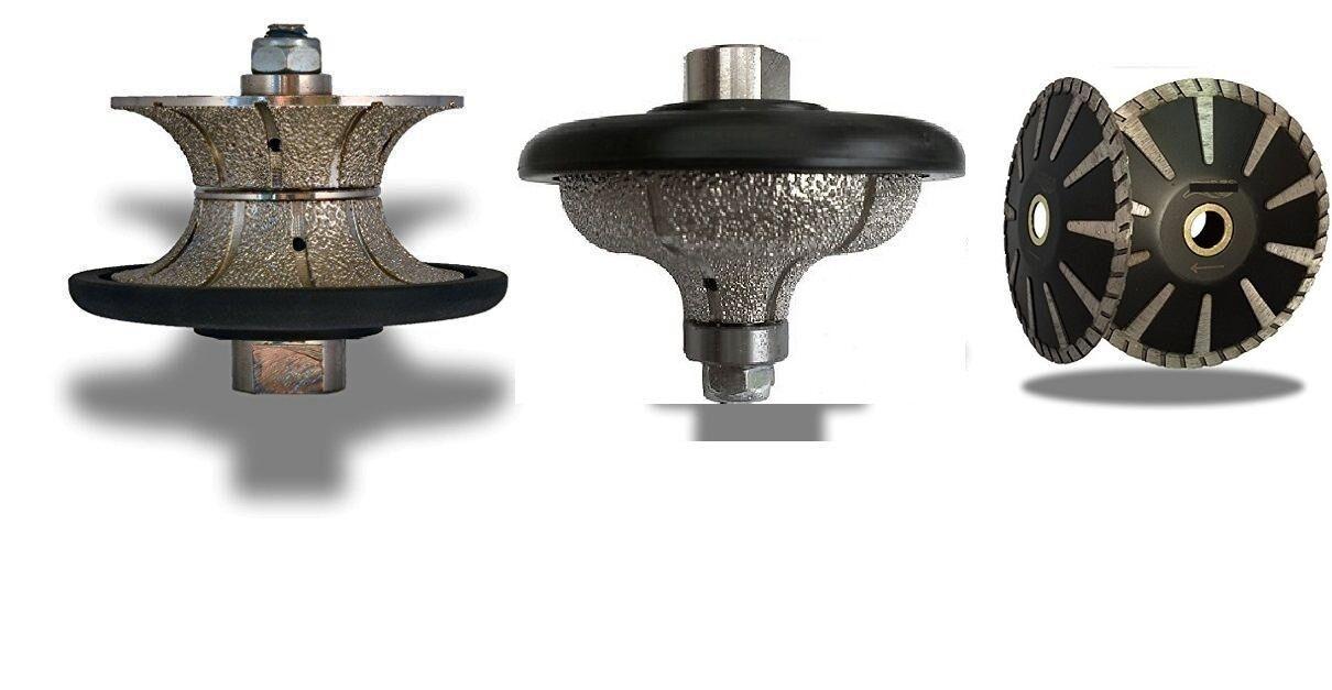 1 Inch Full Ogee Bullnose Diamond Router Granite Concrete 5