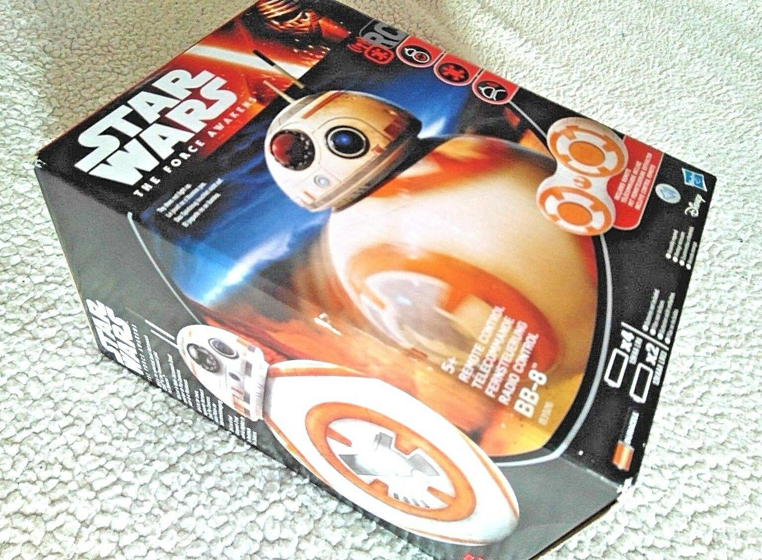 STAR WARS BB-8 REMOTE CONTROL DROID (ROLLS ANY DIRECTION, SOUNDS ). BRAND NEW