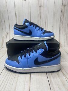 Nike Air Jordan 1 Low GS Size 5Y or Womens 6.5 University Blue ...