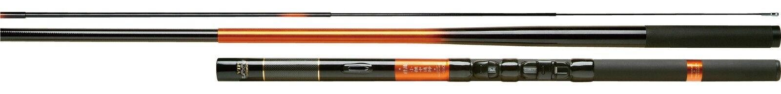 NISSIN SEIKON KOTSUGI NAKATOHSHI Telescopic Interline Japanese Stream Rod Tenkar