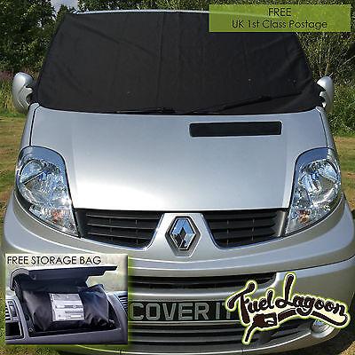 Renault Trafic Vitre Protection Écran Enveloppant Noir des Aveugles Camping-Car