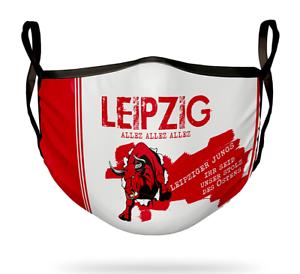 RB Behelfsmaske Leipzig Mund Nasen Maske Mundbedeckung Fanartikel Bundesliga