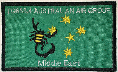 Australia Army Task Group 633.2 Middle East Patch Hook /& Sew Repro New A98