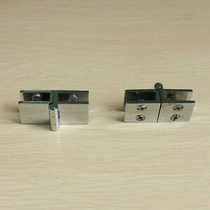 2 pcs glass to glass hinge 180 degree out swing cabinet for 180 degree swing door hinges