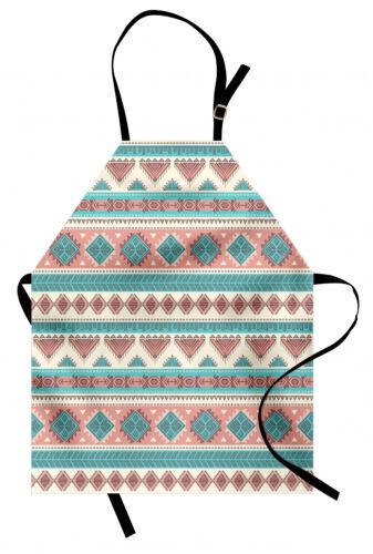 Stammes Kochschürze Aztekische Kunst Afrikanischer Stil Fester Digitaldruck