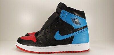 Nike Air Jordan 1 Retro I High Og W Unc To Chicago Black Blue