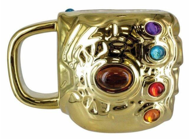 Mug 3D Thanos Gauntlet Sous Licence Officielle Marvel - Avengers Infinity War