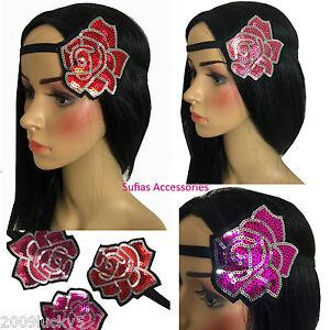 A Beautiful Gold Rose And Diamanté Design Chain Head//Hair//Kylie Band