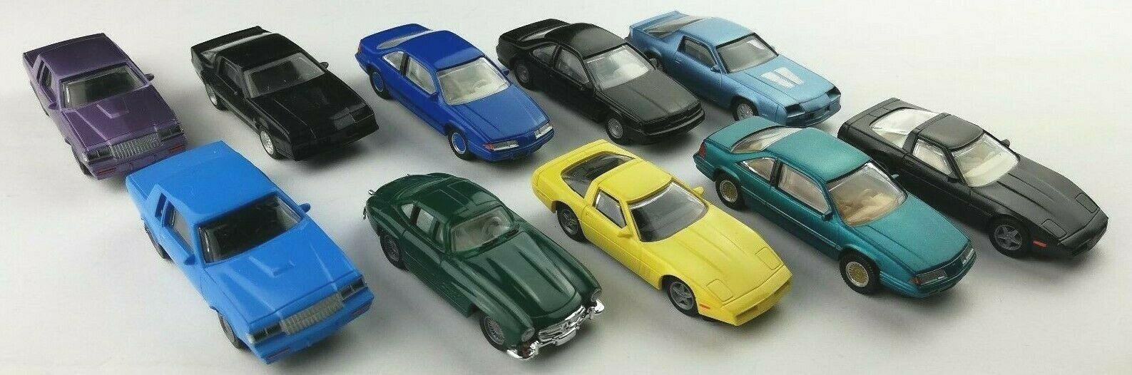 10x Pat-Mor Modele US Cars Car HO 1 87