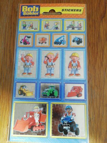 Bob The Builder Shiny Stickers For Card Making Scrapbooking and Much More