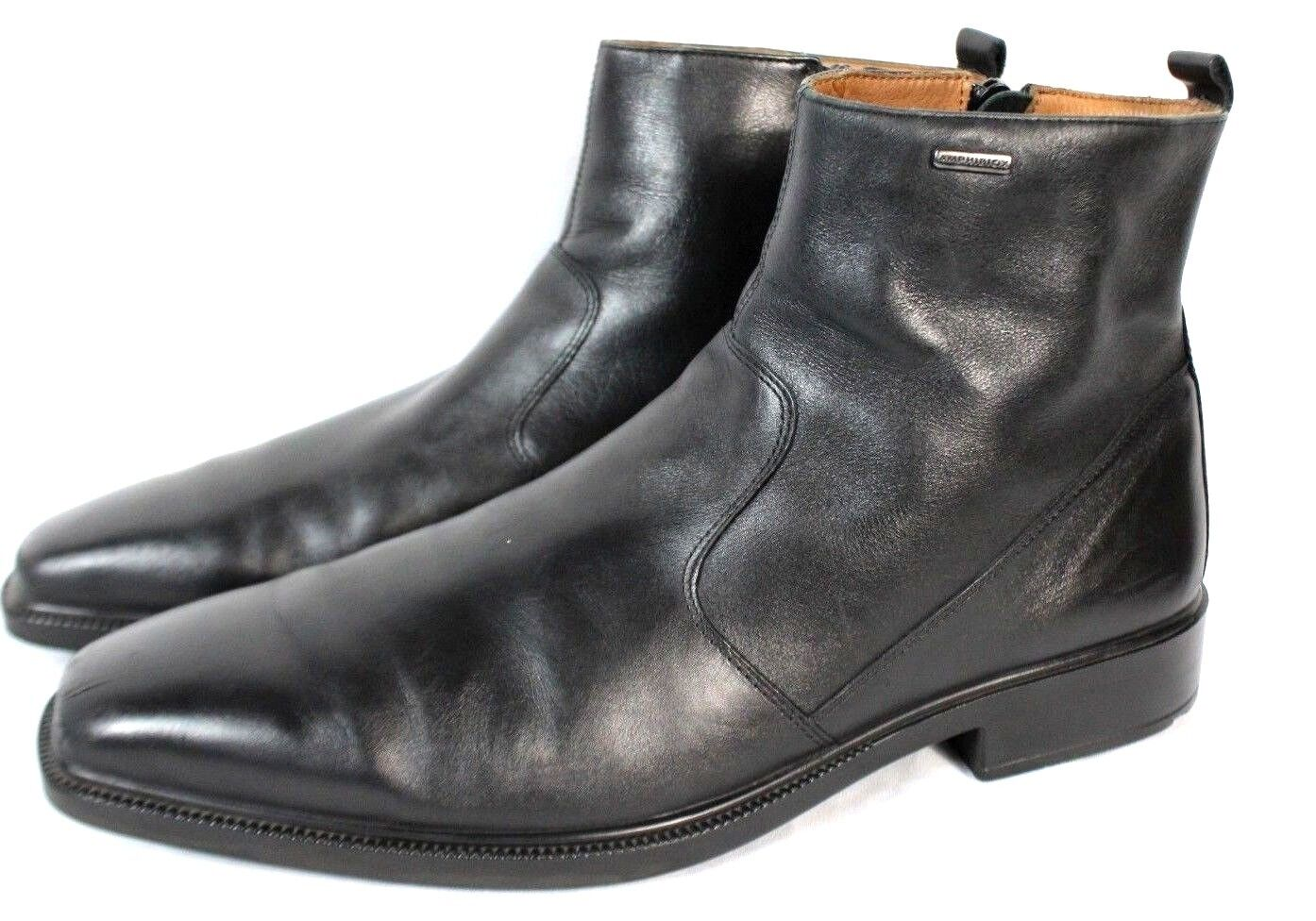 Side Men Stiefel Chelsea schwarz Leather Alex Amphibiox 389