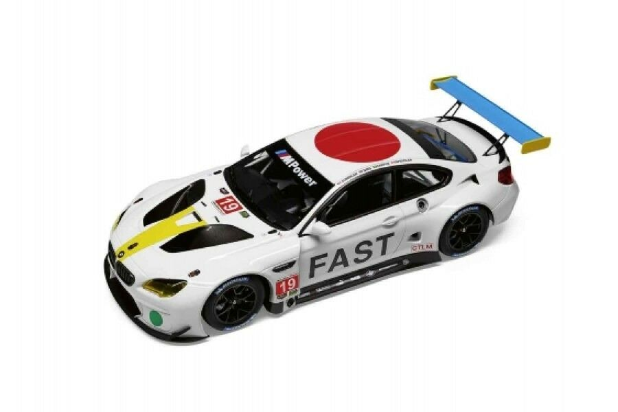 Original BMW Miniature m6 John Baldessari GTLM ART CAR 1 18 Kyosho 80432447953