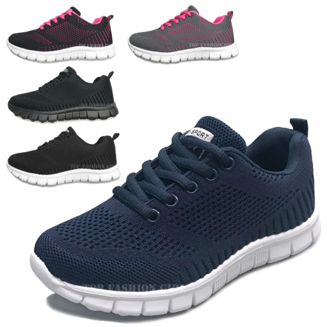 Athletic Shoes SNEAKERS Navy Blue