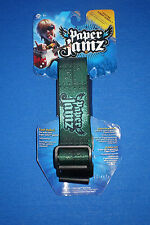 WowWee Paper Jamz Guitar Strap Series 1~Style 3 Paper Jamz Green   c4